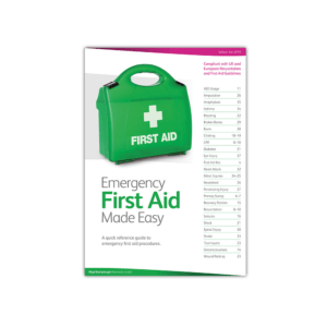 Emergency First Aid at Work Manual